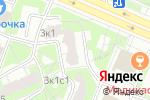 Схема проезда до компании Натяжные потолки Бульвар Дмитрия Донского в Москве