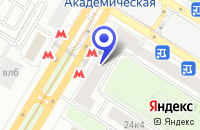 Схема проезда до компании ТФ ЛЕГРАН в Москве