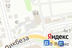 Схема проезда до компании Шиномонтажная мастерская в Туле