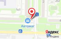 Схема проезда до компании Торгово-Промышленная Компания «Трикотажоптторг» в Москве