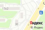 Схема проезда до компании Я и мой робот в Москве