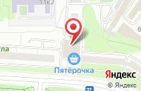 Схема проезда до компании М-Сервис в Москве