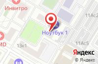 Схема проезда до компании Свм Дистрибьюшн в Москве