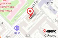 Схема проезда до компании Мснк-Пресс в Москве