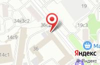 Схема проезда до компании Отель Сервис в Москве
