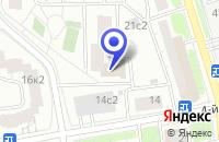 Схема проезда до компании ПТФ СИТЕРНА в Москве