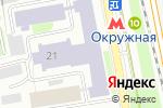 Схема проезда до компании Ё мебель в Москве