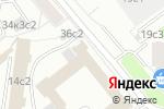 Схема проезда до компании Академия КУДО в Москве