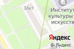 Схема проезда до компании Электросвет-7 в Москве