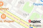 Схема проезда до компании Мастера-Строители в Москве