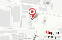 Схема проезда до компании Аксет в Подольске