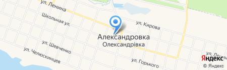 Александровская общеобразовательная школа I-III ступеней на карте Старомихайловки