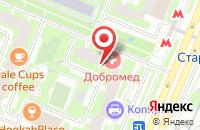 Схема проезда до компании Ск Дорстрой в Москве