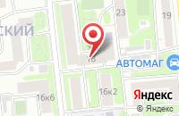 Схема проезда до компании СтройГарант в Москве