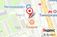 Схема проезда до компании Интеллектуальные Системы Контроля Безопасности в Москве