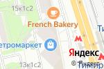 Схема проезда до компании Страховой брокер в Москве