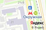 Схема проезда до компании Дизель-Гарант в Москве