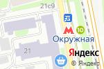Схема проезда до компании А737 в Москве