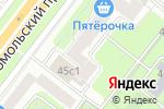 Схема проезда до компании АКБ АКИБАНК в Москве