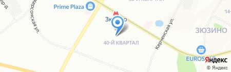 Средняя общеобразовательная школа №538 с дошкольным отделением на карте Москвы