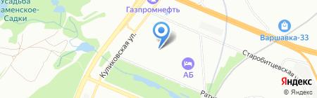 Средняя общеобразовательная школа №1613 с дошкольным отделением на карте Москвы