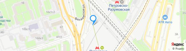 метро Петровско-Разумовская