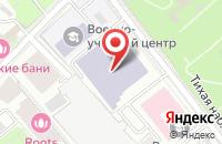Схема проезда до компании Медицинский Центр Сеченовский в Москве