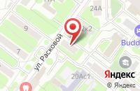 Схема проезда до компании Интер Сити А в Москве