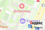 Схема проезда до компании Охрана Здоровья в Москве