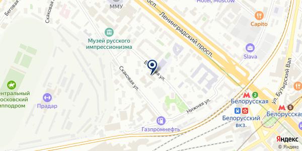 ЛАБСОЛЮТ на карте Москве