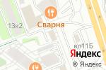 Схема проезда до компании Озан в Москве