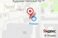 Схема проезда до компании РЕМИТ в Подольске
