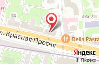 Схема проезда до компании Инфорум в Москве
