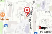Схема проезда до компании Стройпрофигрупп в Москве