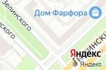 Схема проезда до компании Артмагия в Москве