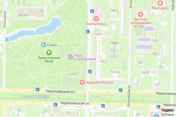 Ремонт телевизоров Улица Абрамцевская на яндекс карте