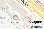 Схема проезда до компании Life Essence в Москве