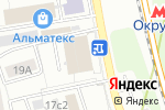 Схема проезда до компании ТИСАК в Москве