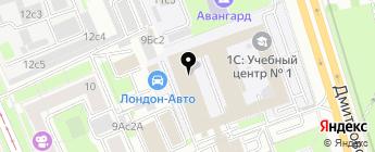 AUTO-CENTERS на карте Москвы