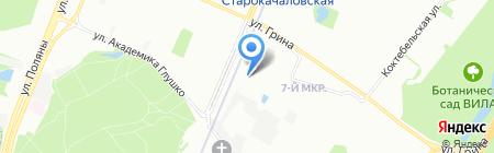 Мотошкола в Бутово на карте Москвы