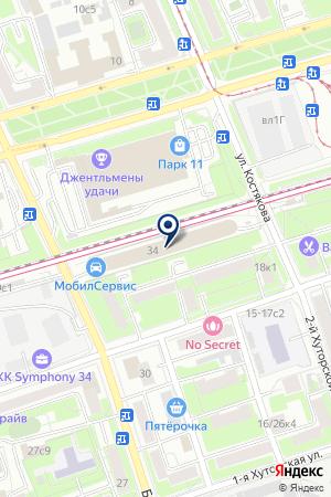 АВТОСЕРВИСНОЕ ПРЕДПРИЯТИЕ ПРОМСПЕЦСЕРВИС на карте Москвы