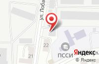 Схема проезда до компании Rent-Food в Подольске