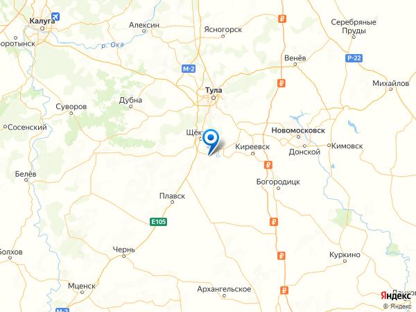 посёлок Горноспасательный на карте