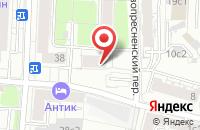 Схема проезда до компании Эксперт Профи в Москве