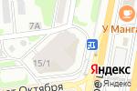 Схема проезда до компании Erzia в Москве