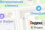 Схема проезда до компании Робсон в Москве