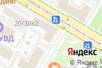 Схема проезда до компании Черемушкинский районный суд в Москве