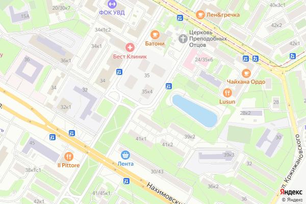 Ремонт телевизоров Улица Новочеремушкинская на яндекс карте