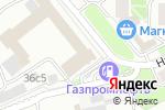 Схема проезда до компании Меридиан-Строй в Москве