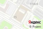Схема проезда до компании Атлантис в Москве
